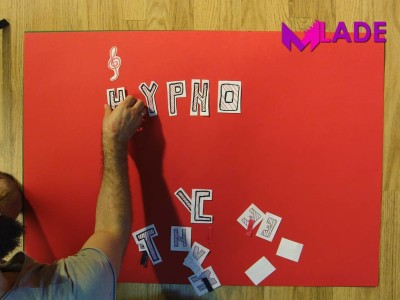 stop motion lyric video mlade